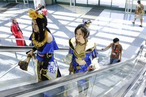 Účastníčky Anime Expo v Los Angeles.