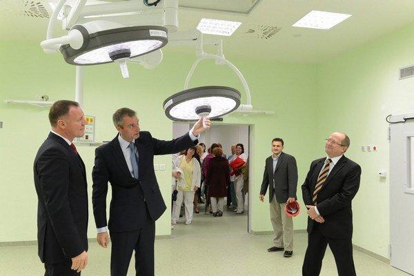 Najviac eurofondov išlo na nový urgentný príjem v košickej Univerzitnej nemocnici.