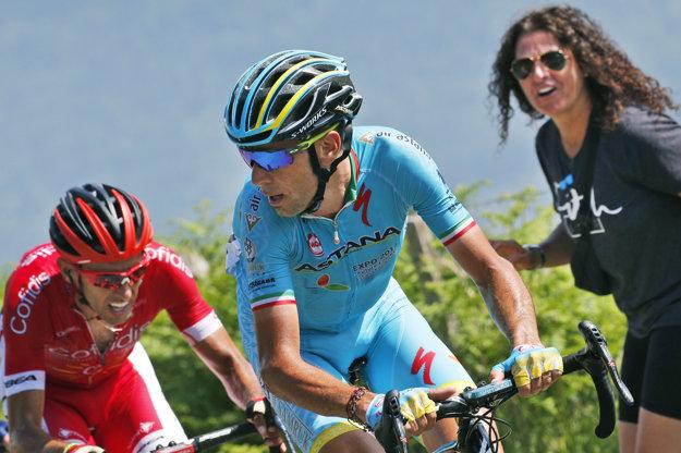Vincenzo Nibali už bol v úniku aj v siedmej etape.