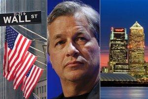 Šéf najviac poškodenej banky JPMorgan Chase Jamie Dimon.