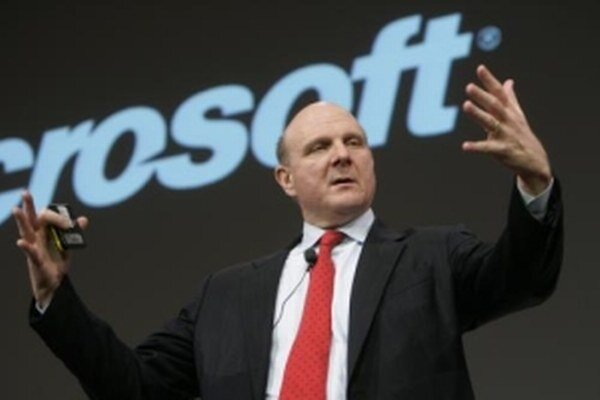 Šéf Microsoftu Steve Ballmer.