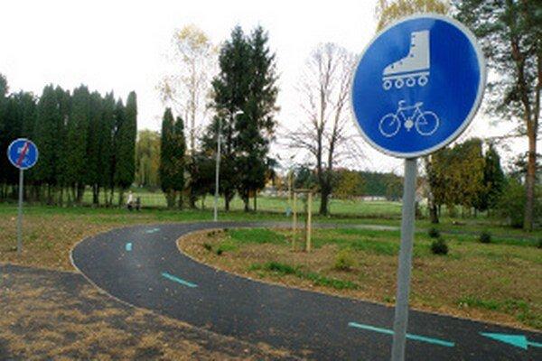 Cyklochodník môže byť využívaný aj na dopravnú výchovu.