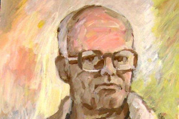 Autoportrét Imricha Vysočana.