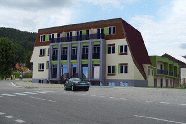 Takto by mohla budova vyzerať podľa projektu firmy, ktorá ju vlastní.