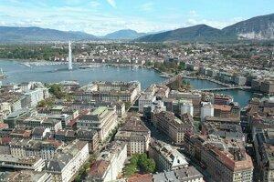 Švajčiarska Ženeva je dôležité centrum svetovej diplomacie. V rebríčku je patrí 8. miesto.