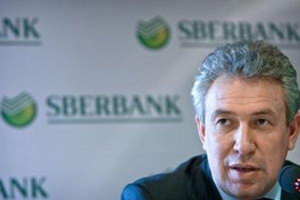 Podpredseda predstavenstva Sberbank Sergej Gorkov oznámil príchod na slovenský trh.
