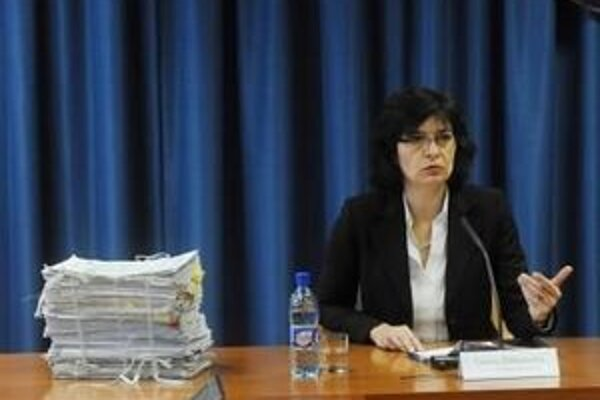 Ministerska spravodlivosti Lucia Žitňanská. Foto - TASR
