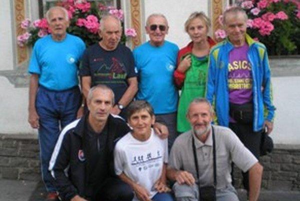 Horný rad zľava: Hajro, Číž, Hradňanský, Spišková, Spiška. Dolný rad zľava: Madaj, Budinská a Karak.