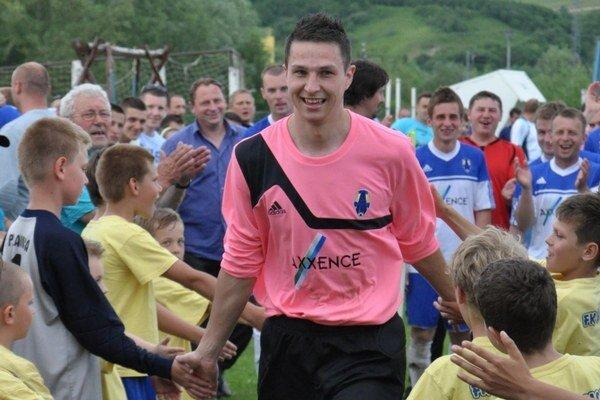 Maroš Beňo je  obľúbený aj medzi tamojšími fanúšikmi.