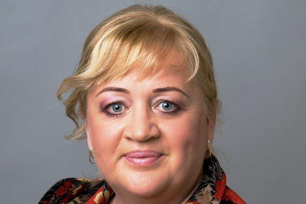 Zita Pleštinská. Bývalá europoslankyňa, dnes starostka.