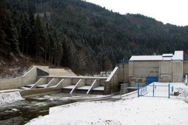 Vodná elektráreň Ružbašská Miľava.