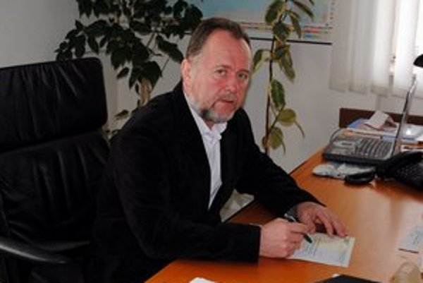 Štefan Mikuš. Konateľ spoločnosti Ekos.