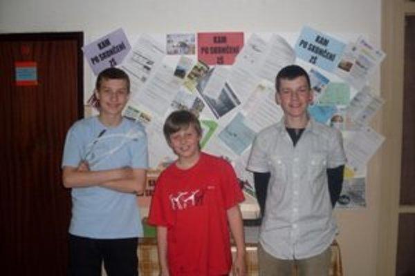 Víťazi. Biblickú olympiádu zvládli najlepšie školáci z Plavnice.