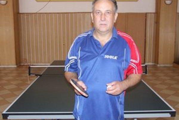Valentín Tomáš. Predseda STK Plaveč, vedie klub už 5 rokov.