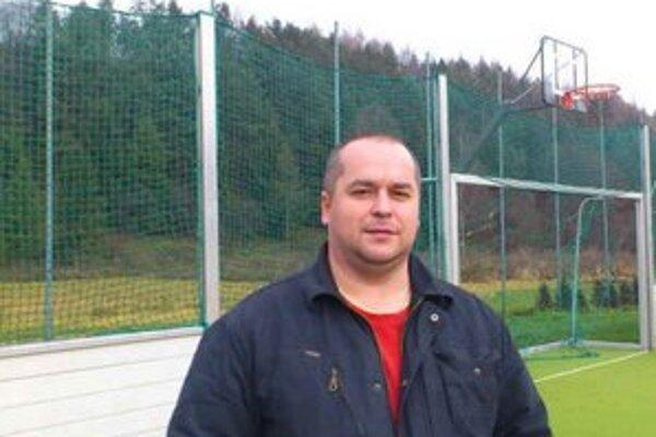 Manažér FK Plavnica. Rastislav Grich robí pre plavnický futbal maximum.