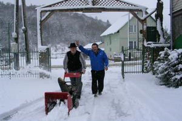 Začalo sa to v zime. Ján Bóry a Ladislav Žilecký.