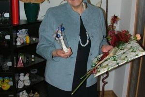 Monika Tančáková. Jedna z nominovaných v kategórii vlastná tvorba.