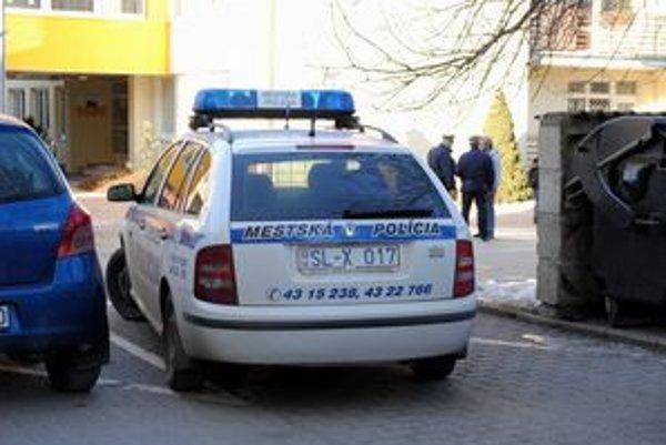 Mestskí policajti. Dostanú nové vozidlo.