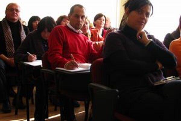 Séria prednášok. Vypočuli si ju mnohí učitelia zo Staroľubovnianskeho okresu.
