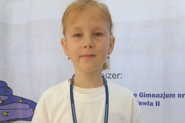 Veronika Lukáčová na súťaži vo Varšave.