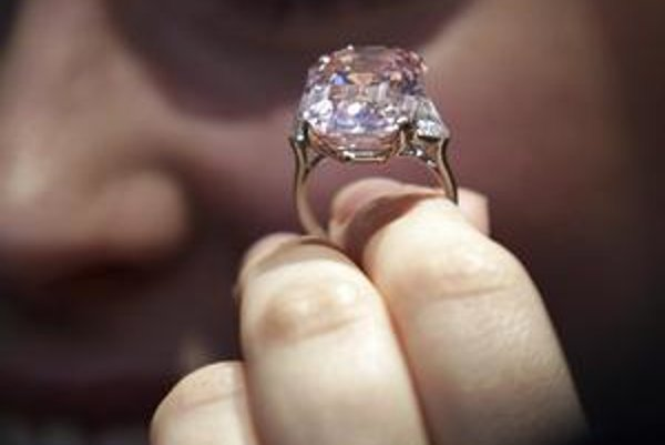 Ružový diamant.