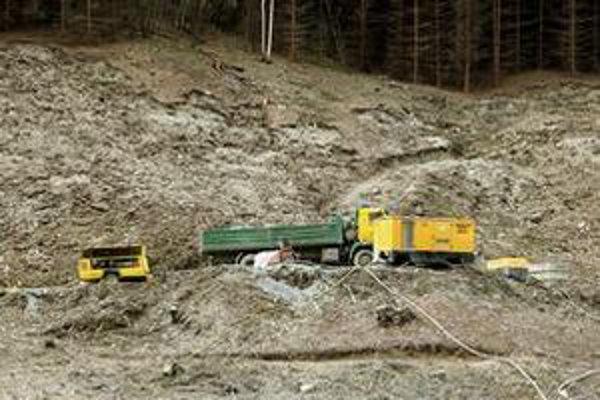 Prípravné práce pre budúcu D1 už zdevastovali časť chránených území vo Veľkej Fatre.