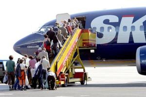 Veriteľov SkyEurope pribúda. Na inzerát českej firmy sa ich prihlásila asi stovka.