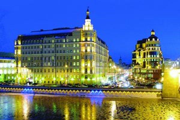 Prestížny moskovský hotel Baltchug.