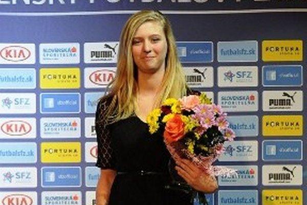 Talent roka 2013 Ľudmila Maťavková je momentálne na skúške v nemeckom Bayerne Mníchov.