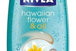 Sprchový gél Hawaian Flower & Oil s olejovými perličkami a komplexom Hydra IQ, Nivea, 2,69 €
