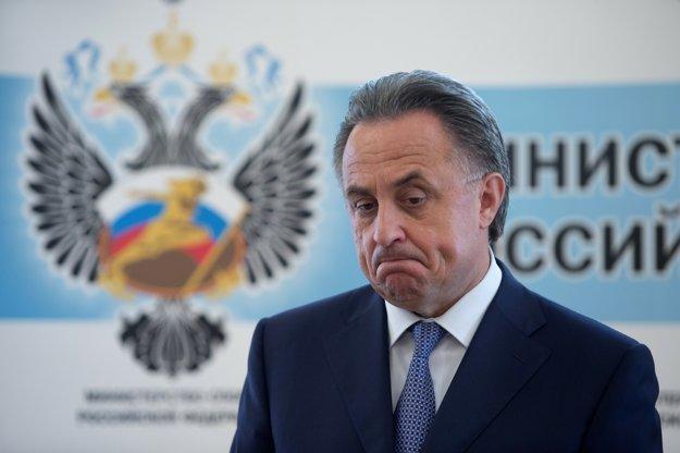 Ruský minister športu Vitaly Mutko.