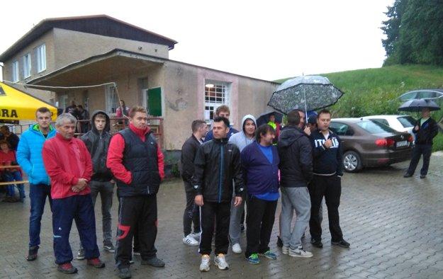 Vyhodnotenie turnaja a aj celé podujatie poznačil dážď.