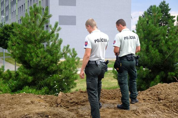 Pri prácach našli muníciu.
