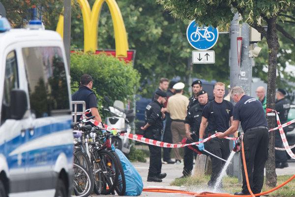 Útok v Mníchove.