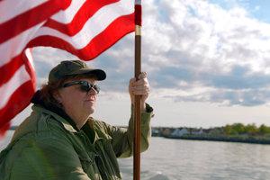 Michael Moore zdôvodňuje výsledky amerických volieb.