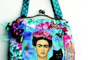 Tyrkysová taška Frida