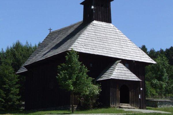Kostol z Rudna v Múzeu slovenskej dediny Martin.