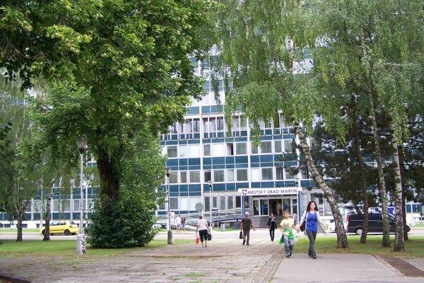 Sídlo Mestského úradu v Martine.