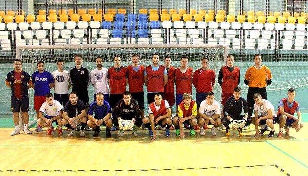 Výber ObFZ Nitra absolvoval prvý tréning v nedeľu 22. novembra.