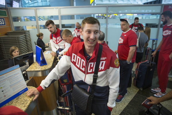 Ruská výprava odcestovala do Ria.