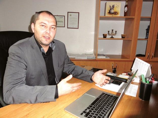 Michal Grujbár v čase, keď šéfoval zlatomoravskej nemocnici.