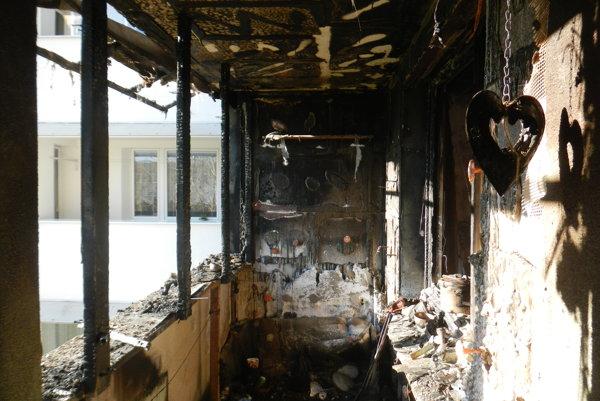 Požiar spôsobil škodu desaťtisíc eur.