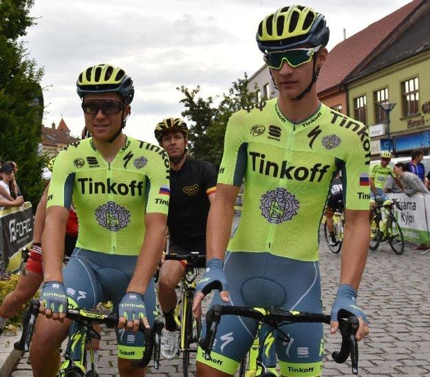 Zľava Michael Kolář a Erik Baška.