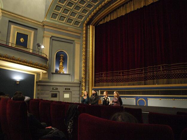Diskusia s tvorcami po premietaní filmu UROK (The lesson).