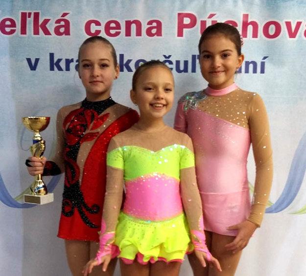 Zľava P. Černíková, K. Kratochvílová a P. Bieliková.