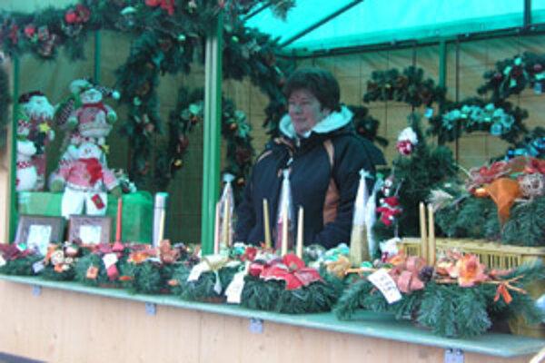 Vianočné trhy budú v centre Prievidze aj tento rok.