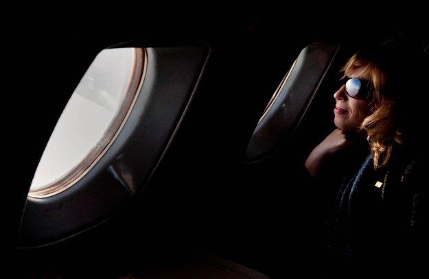 Iveta Radičová. Prvá žena na čele slovenskej vlády vniesla do politiky nové spôsoby. Na svojej triumfálnej prvej ceste na summit Rady EÚ do Bruselu netušila, že jej vláda vydrží len rok. FOTO SME - VLADIMÍR ŠIMÍČEK