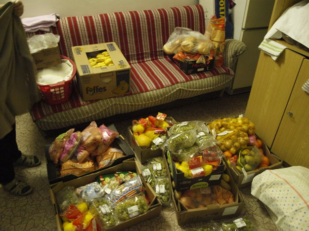Darované ovocie.