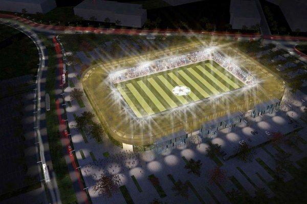 Takto má vyzerať nový košický štadión.