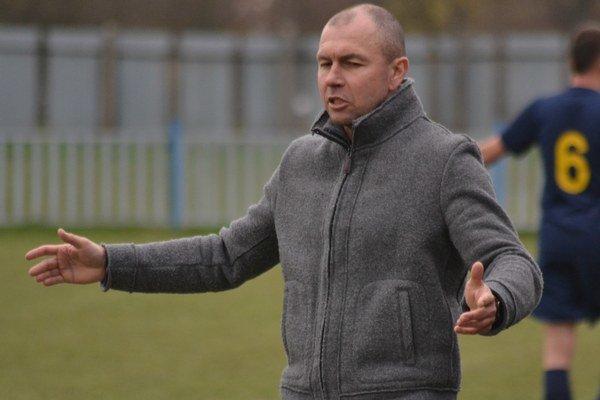 Tréner Úpora Miroslav Michalec. Sezónu hodnotí negatívne, ale sklamaný nie je.
